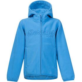 Bergans Bryggen Jacket Kids Light Winter Sky/Athens Blue